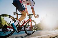 Lewis Askey (GBR)<br /> <br /> MEN JUNIOR ROAD RACE<br /> Kufstein to Innsbruck: 132.4 km<br /> <br /> UCI 2018 Road World Championships<br /> Innsbruck - Tirol / Austria