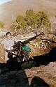 Iran 1982 .Dr. Hadwin ShataviIran near a douchka of the KDPI  .Iran 1982 .Hadwin Shatavi, chirurgien kurde, posant a cote d'une douchka du PDKI