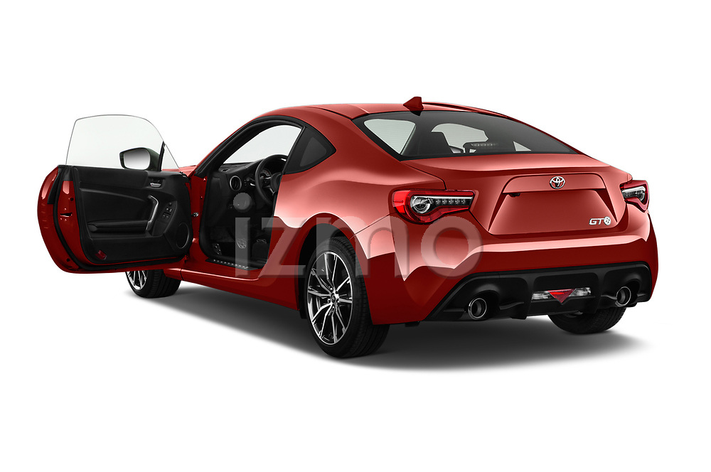 Car images close up view of a 2017 Toyota GT86 Sport 2 Door Coupe doors