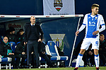 Leganes vs Real Madrid coach Zinedine Zidane during Copa del Rey  match. A quarter of final go. 20180118.