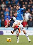 03.11.2018: St Mirren v Rangers: Andy Halliday and Danny Mullen