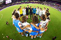 Orlando, FL - Sunday August 05, 2018: Orlando Pride vs Sky Blue F.C. at Orlando City Stadium.