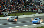 NHRA Mello Yello Drag Racing Series<br /> NHRA New England Nationals<br /> New England Dragway, Epping, NH USA<br /> Saturday 3 June 2017 Del Worsham, Lucas Oil, Funny Car, John Force<br /> <br /> World Copyright: Will Lester Photography