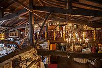 Eneperi Restaurant. Bakio. Coast of Biscay. Urdaibai Region. Bizkaia. Pais Vasco. Basque Country. Spain.