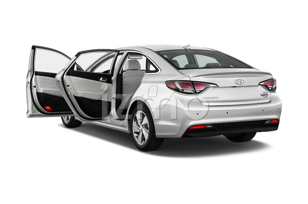 Car images of 2016 Hyundai Sonata-Plug-in-Hybrid Limited 4 Door Sedan Doors