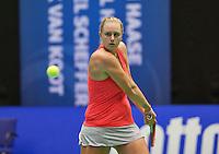 Rotterdam,Netherlands, December 15, 2015,  Topsport Centrum, Lotto NK Tennis, Mandy Wagemakers (NED)<br /> Photo: Tennisimages/Henk Koster