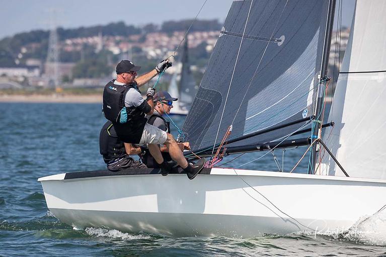 National 18 dinghy racing
