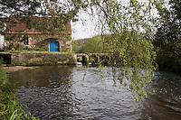 Europe/France/Bretagne/29/Finistère/Plouvien: Petit moulin sur l'Aber Benoit