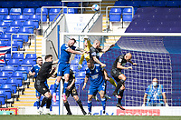 Jamie Jones, Wigan Athletic,  gets a strong fist on the ball during Ipswich Town vs Wigan Athletic, Sky Bet EFL League 1 Football at Portman Road on 13th September 2020