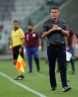 14th October 2020; Arena da Baixada, Curitiba, Brazil; Brazilian Serie A, Athletico Paranaense versus Corinthians;  Corinthians manager Vagner Mancini
