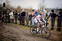 eventual race winner Ceylin Del Carmen Alvarado (NED/Corendon-Circus)<br /> <br /> Women's Race<br /> UCI cyclocross WorldCup - Koksijde (Belgium)<br /> <br /> ©kramon