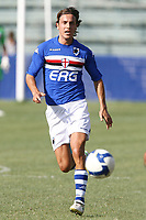 Franceschini Sampdoria<br /> La Spezia 16/08/2008 Calcio <br /> Siena Sampdoria <br /> Foto Insidefoto