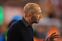 EAST RUTHERFORD, NJ - SEPTEMBER 7: Gregg Berhalter United States head coach during a game between Mexico and USMNT at MetLife Stadium on September 6, 2019 in East Rutherford, New Jersey.