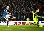 Martyn Waghorn's shot saves by Jack Hamilton