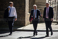 (From L to R) Jeremy Hunt MP (Secretary of State for Health), David Lidington MP (Lord President of the Council, Leader of the House of Commons) & Chris Grayling MP (Secretary of State for Transport).<br />