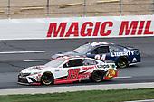 #19: Martin Truex Jr., Joe Gibbs Racing, Sport Clips Toyota Camry, #24: William Byron, Hendrick Motorsports, Liberty University Chevrolet Camaro