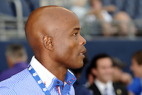 Julio Dely Valdes coach of Panama...Canada and Panama tied 1-1 in Gold Cup play at LIVESTRONG Sporting Park, Kansas City, Kansas.