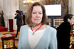 Natalia Figueroa attends to the closing of the commemoration of the IV centenary of the death of Miguel de Cervantes at Royal Palace in Madrid, Spain. January 30, 2017. (ALTERPHOTOS/BorjaB.Hojas)