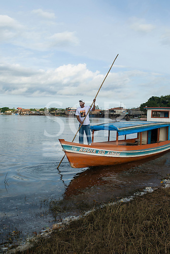 "Altamira, Brazil. ""Eagle of the Xingu"" (Aguia do Xingu) riverboat."
