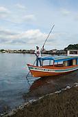 "Altamira, Brazil. ""Eagle of the Xingu"" (Aguia do Xingu) riverboat."