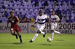 Al Ain SC plays Bec Tero Sasana on their AFC Champions League Final 1st leg match on October 03, 2003 at the Sheikh Tahnon Stadium stadium in Al Ain City, United Arab Emirates. Photo by World Sport Group