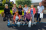 Catriona Dennehy, her family and her friends in Cordal, who've endured 27 water outages in the last three years and 7 of them have occurred in 2021. Kneeling l to r: Catriona Dennehy and Cllr: Charlie Farrelly. Back l to r: Kate Bennett, Mary O'Connor, Caroline Lane, Kay Griffin, Kathleen and Tommy O'Connor.