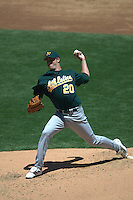Mark Mulder. Oakland Athletics vs San Francisco Giants. San Francisco, CA 6/29/2003 MANDATORY CREDIT: Brad Mangin