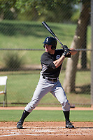 Luis Gonzalez (7) of the Chicago White Sox at bat during an Instructional League game against the Los Angeles Dodgers on September 30, 2017 at Camelback Ranch in Glendale, Arizona. (Zachary Lucy/Four Seam Images)