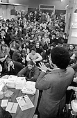 1980:  Paul Boetang, a worker at Paddington Law Centre,  addresses a meeting of Paddington Campaign against Racism at the 510 Centre, Harrow Road, called to organise a counter-demonstration to a local march planned by the neo-nazi British Movement.  Paul Boetang was elected Labour MP for Brent South in 1987 and became the first black Cabinet member in 2002.  He is now British High Commissioner to South Africa.