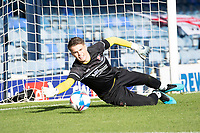 Josh Griffiths of Cheltenham Town pre match during Southend United vs Cheltenham Town, Sky Bet EFL League 2 Football at Roots Hall on 17th October 2020