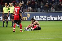 Ioannis Amanatidis (Eintracht Frankfurt) enttäuscht