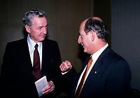 April 1988 File Photo - Paul Desmarais<br /> <br /> Desmarais passed away October 2013<br /> <br /> PHOTO :  Agence Quebec Presse