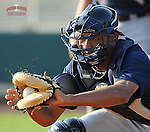 13 March 2009: Catcher Christian Bethancourt  of the Atlanta Braves at Spring Training camp at Disney's Wide World of Sports in Lake Buena Vista, Fla. Photo by:  Tom Priddy/Four Seam Images
