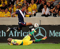 17 Juan Agudelo during the  Soccer match between South Africa and USA played at the Greenpoint in Cape Town South Africa on 17 November 2010.