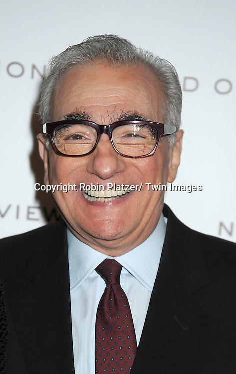 Martin Scorsese attends The National Board of Review Film Awards Gala on January 10, 2012 at Cipriani 42nd Street in New York City.