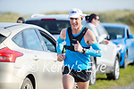 John O'Sullivan, a member of the St Brendan's AC competing in the Virtual Dublin Marathon in Banna on Sunday.