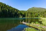 Deutschland, Bayern, Oberbayern, Rosenheimer Land, bei Oberaudorf: der Bichlersee | Germany, Upper Bavaria, Rosenheimer Land, near Oberaudorf: Lake Bichlersee