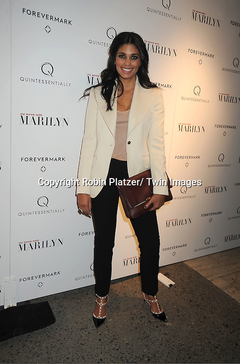 """Rachel Roy attends The New York Premiere of """"My Week With Marilyn"""" on November 13, 2011 at the Paris Theatre in New York City. The movie stars Michelle Williams, Kenneth Branagh, Dominic Cooper and Zoe Wanamaker."""