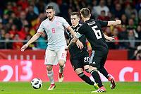 Spain's Koke Resurreccion (l) and Argentina's Giovani Lo Celso (c) and Lucas Biglia during international friendly match. March 27,2018.(ALTERPHOTOS/Acero) /NortePhoto.com NORTEPHOTOMEXICO