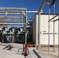 The main entrance to the Momentary Friday Feb. 21, 2020 in Bentonville. (NWA Democrat-Gazette/JOCELYN MURPHY)