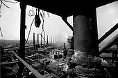 Magnitogorsk, Russia.1992.A post-communist steel city.