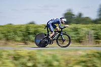 Xandro Meurisse (BEL/Alpecin-Fenix)<br /> <br /> Stage 20 (ITT) from Libourne to Saint-Émilion (30.8km)<br /> 108th Tour de France 2021 (2.UWT)<br /> <br /> ©kramon