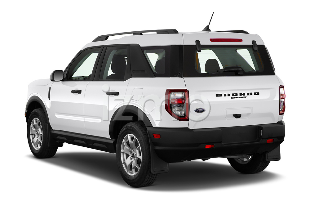 Car pictures of rear three quarter view of 2021 Ford Bronco-Sport Base 5 Door SUV Angular Rear