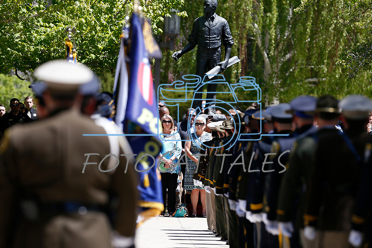Images from the 22nd annual Nevada Law Enforcement Officers Memorial ceremony in Carson City, Nev., on Thursday, May 2, 2019. <br /> Photo by Cathleen Allison/Nevada Momentum