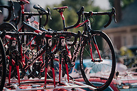 Team Cofidis spare bikes<br /> <br /> Stage 9: Arras Citadelle > Roubaix (154km)<br /> <br /> 105th Tour de France 2018<br /> ©kramon