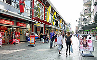 Nederland - Almere - Augustus 2018.  Winkelstraat in Almere Centrum.    Foto Berlinda van Dam / Hollandse Hoogte