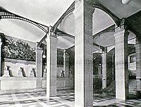 Bibliotheque Sainte-Genevieve, Henri Labrouste. Entrance to stairs.
