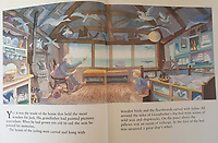 BNPS.co.uk (01202 558833)<br /> Pic: Lillicrap Chilcott/BNPS<br /> <br /> PICTURED: The property featured in the book Jack's Fantastic Voyage by Michael Foreman<br /> <br /> A humble waterside cottage that inspired a number of picturesque oil paintings has emerged for sale for £650,000.<br /> <br /> Turnstones Cottage in St Ives, Cornwall was home to landscape artist Pauline Hewitt in the 1930s before later being bought by abstract painter Patrick Heron.<br /> <br /> The pair were both drawn to the property's breathtaking sea views that look right out over a charming Cornish harbour.