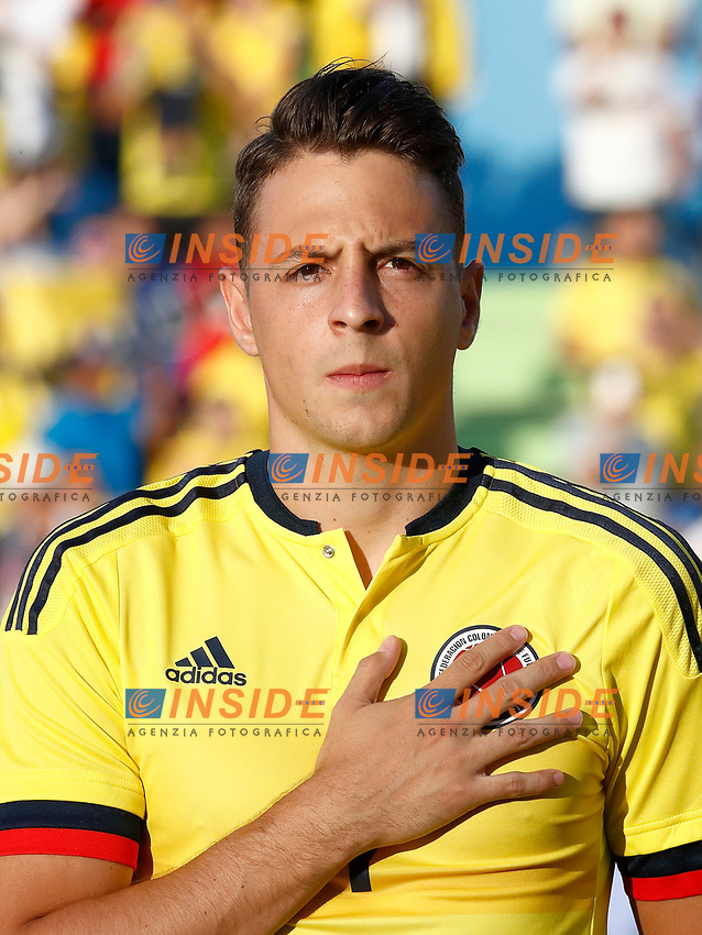 Colombia's Santiago Arias during international friendly match. June 13,2017.(ALTERPHOTOS/Acero/Insidefoto)<br /> Camerun - Colombia <br /> Foto Acero/Alterphotos/Insidefoto <br /> ITALY ONLY
