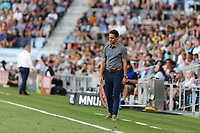 SAINT PAUL, MN - JUNE 23: Austin FC head coach Josh Wolff during a game between Austin FC and Minnesota United FC at Allianz Field on June 23, 2021 in Saint Paul, Minnesota.